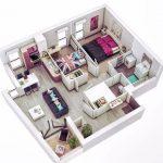 Arsitek Denah Rumah Minimalis 1 Lantai