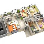 Contoh Denah Rumah Minimalis 1 Lantai