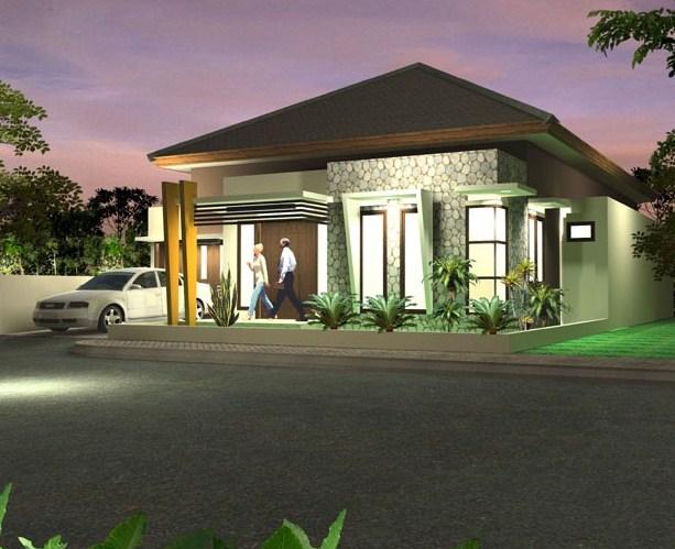 20 Desain Rumah Minimalis 1 Lantai Modern Terbaru 2020