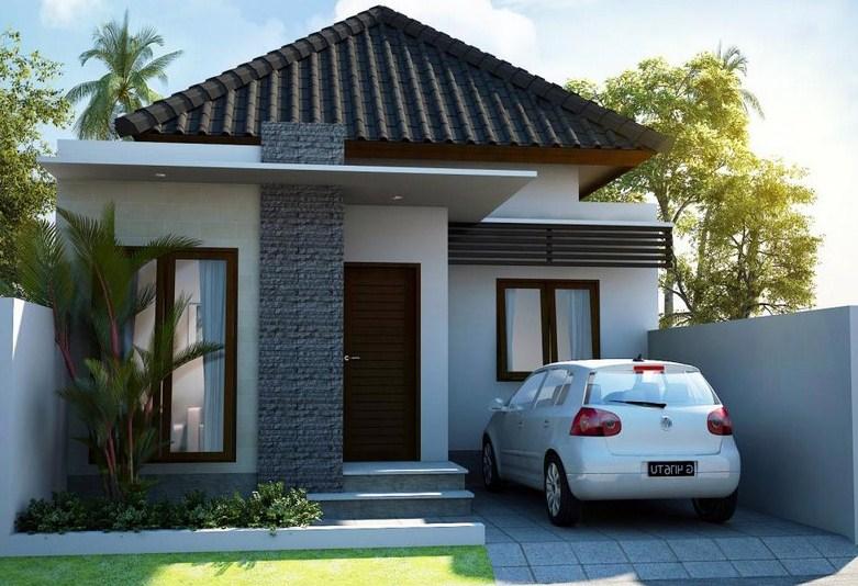 Contoh Gambar Desain Rumah Minimalis Type 36 Terbaru