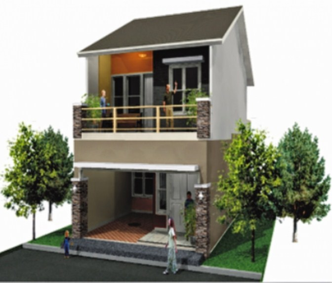 Terbaru Contoh Rumah Minimalis 2 Lantai Terbaru Dan Modern Shreenad Home