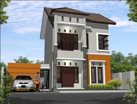 Contoh Model Rumah Minimalis 2 Lantai
