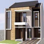 Contoh Rumah Minimalis 2 Lantai Bentuk L