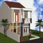 Contoh Rumah Minimalis 2 Lantai Sederhana
