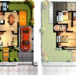 Denah Dan Gambar Rumah 2 Lantai