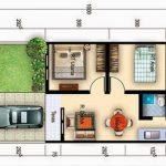 Denah Interior Rumah Minimalis Type 36