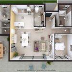 Denah Rumah Minimalis 1 Lantai 2019