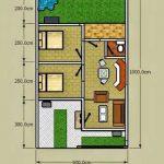 Denah Rumah Minimalis Sederhana Type 36