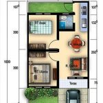 Denah Rumah Minimalis Type 36 2019