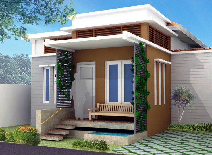 Desain Atap Rumah Minimalis Modern 1 Lantai