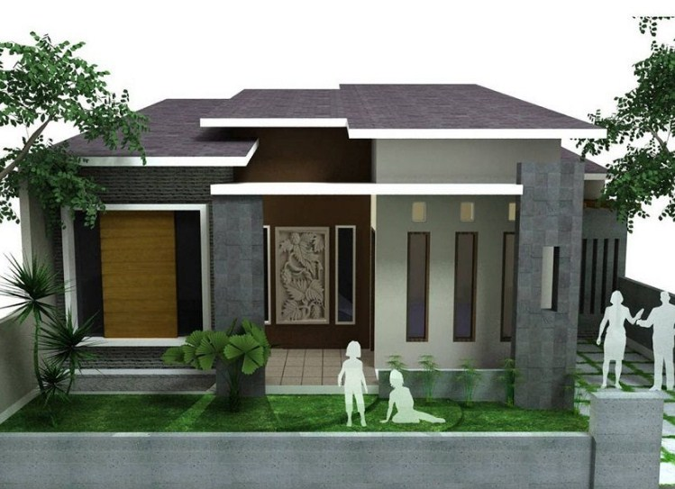 25 Desain Rumah Minimalis Modern 1 Lantai Terbaru 2020