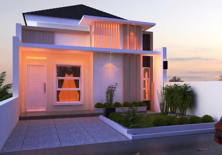 Desain Eksterior Rumah Minimalis Type 36