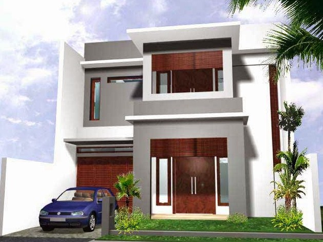 Desain Gambar Rumah 2 Lantai 2019