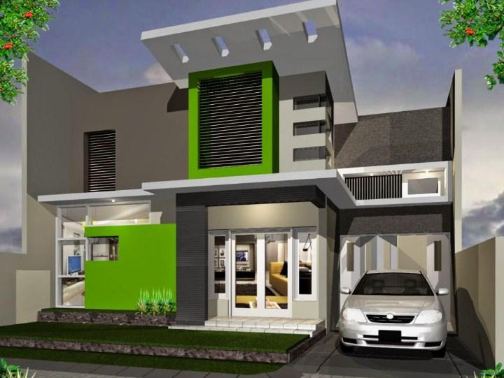 Desain Model Rumah 2 Lantai Minimalis