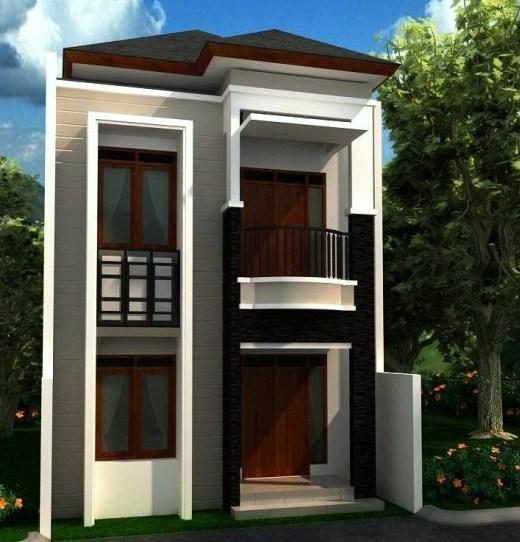 Desain Rumah 2 Lantai Minimalis 2019