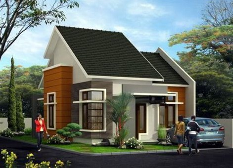 45 Desain Denah Rumah 2 Lantai Minimalis Sederhana