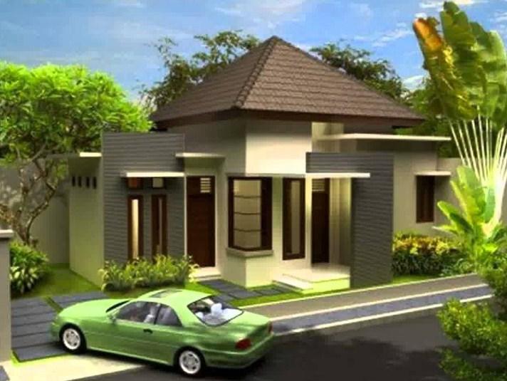 Desain Rumah Minimalis 1 Lantai 3d
