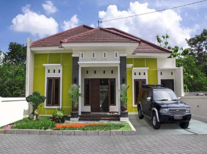Desain Rumah Minimalis 1 Lantai 4 Kamar