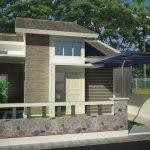 Desain Rumah Minimalis 1 Lantai Ala Eropa