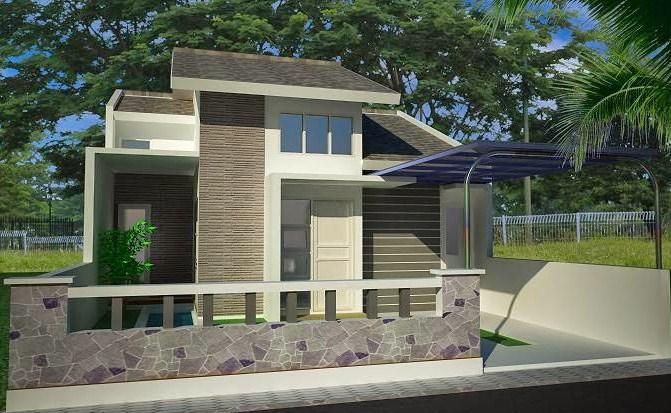 17 Desain Rumah Minimalis 1 Lantai Modern Terbaru 2019