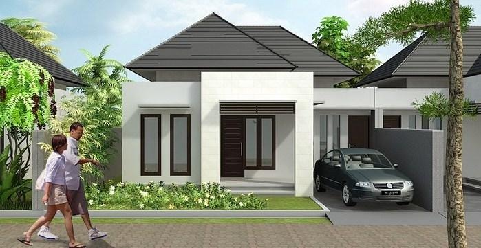 Desain Rumah Minimalis 1 Lantai Modern 2020
