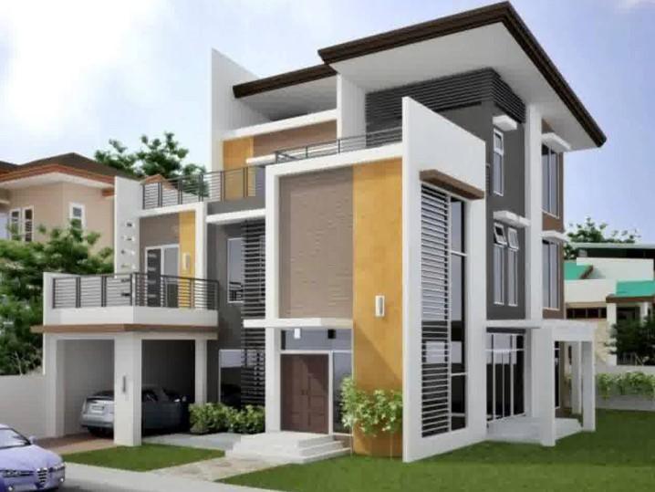 Desain Rumah Minimalis 2 Lantai 100m2