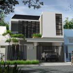 Desain Rumah Minimalis 2 Lantai Modern 2019