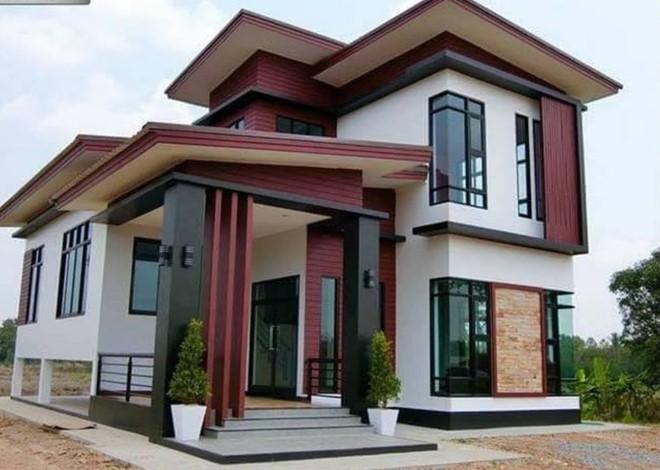 60 Desain Rumah Minimalis 2 Lantai Yang Unik Kreatif
