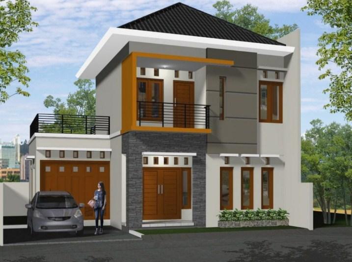 38 Rumah Minimalis 2 Lantai Modern 2020 Ide Instimewa