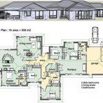 Desain Rumah Minimalis 2 Lantai 5 Kamar Tidur