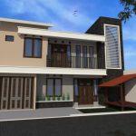 Desain Rumah Minimalis 2 Lantai 5x12