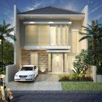 Desain Rumah Minimalis 2 Lantai 6×12