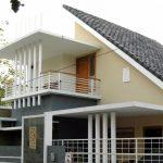 Desain Rumah Minimalis 2 Lantai Atap Miring