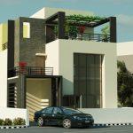 Desain Rumah Minimalis 2 Lantai Dengan Garasi