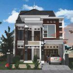 Desain Rumah Minimalis 2 Lantai Gaya Eropa