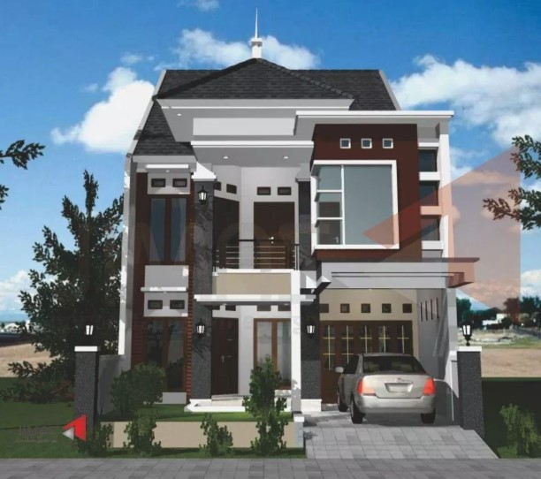 Desain Rumah Minimalis 2 Lantai Gaya Eropa Wild Country Fine Arts