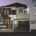 Desain Rumah Minimalis 2 Lantai Lebar 4 Meter