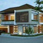 Desain Rumah Minimalis 2 Lantai Modern Terbaru
