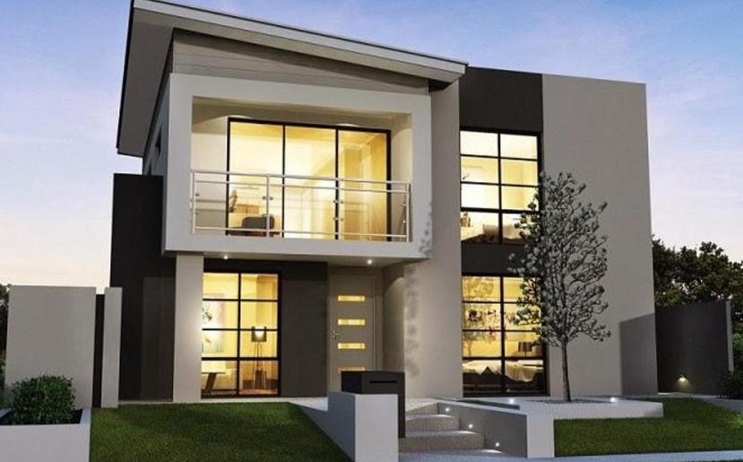 Desain Rumah Minimalis 2 Lantai Tanpa Garasi