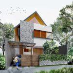 Desain Rumah Minimalis 2 Lantai Ukuran 4x9