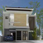 Desain Rumah Minimalis 2 Lantai Ukuran 6x10