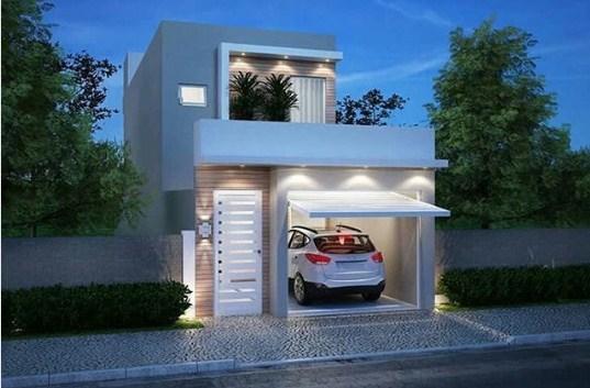 Desain Rumah Minimalis Modern 1 Lantai 2 Kamar Tidur