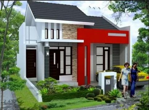 Desain Rumah Minimalis Modern 1 Lantai 3d