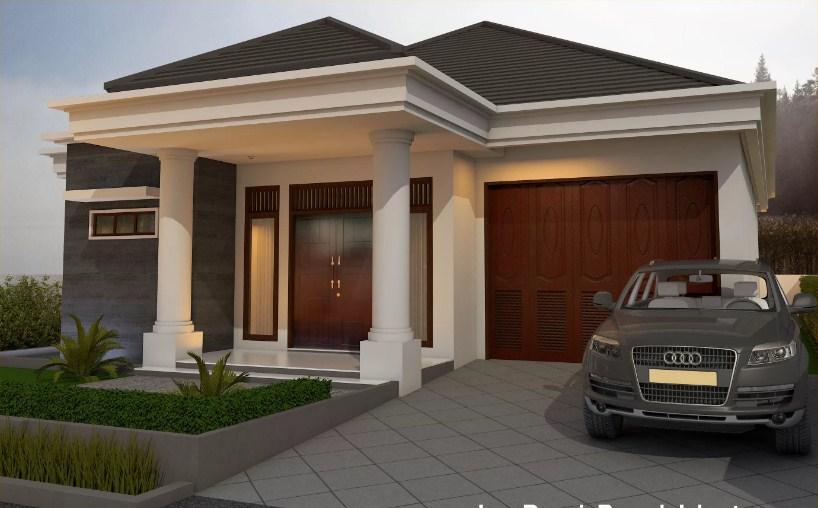Desain Rumah Minimalis Modern 1 Lantai 4 Kamar
