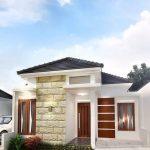 Desain Rumah Minimalis Modern 1 Lantai Tampak Depan