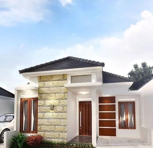 20 Desain Rumah Minimalis Modern 1 Lantai Terbaik 2019