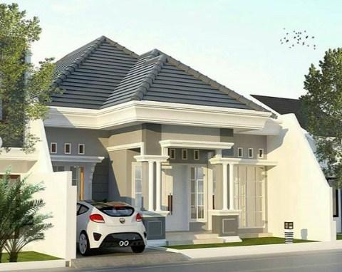 Desain Rumah Minimalis Modern 1 Lantai Terbaru 2019