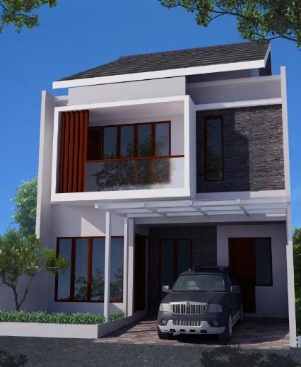 Desain Rumah Minimalis Modern 2 Lantai 2019