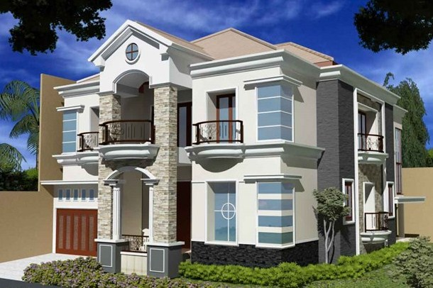 Desain Rumah Minimalis Type 36 2 Lantai