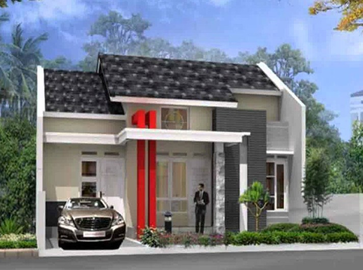 Desain Rumah Type 45 Minimalis 1 Lantai
